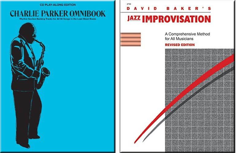 Guitar Improv Studies: Charlie Parker Omni Book & David Baker Improvisation