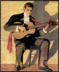 classic guitarist