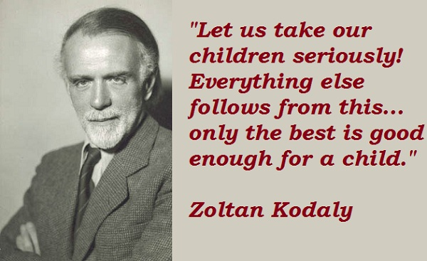 Zoltan Kodaly: Respected Pedagogue